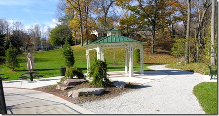 Gazebo at Pebbles Park